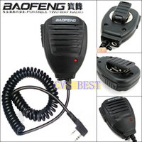 Wholesale Original Genuine UV5R BAOFENG Speaker Microphone Handheld walkie talkie FOR UV3R Plus UV B5 BF888S Security systems Device