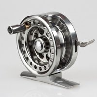 Wholesale High Quality Full Metal Fly Fishing Reels raft and Ice Fly Fishing Fly Flies Fish Reel BLD50 Brake System
