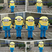 Wholesale 100 Real Image Special Minions Mascot Costume Hot Brand New Despicable Me Character Ault Cartoon Costumes