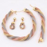 indian jewelry - Indian Gold Jewelry Set Powell Jewelry Set A1061