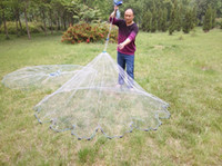 Wholesale Diameter m m cm mesh High quality nylon Environmental protection pendant American hand cast net fishing net D