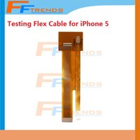 Cheap For iPhone 5 5G Extension Test Cable LCD Touch Screen Digitizer Flex Cable Protector Connector Cable