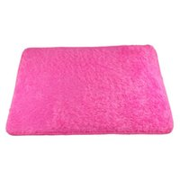 Wholesale Newly Design Pleuche Slip resistant Bathroom Plush Mats Pleuche Blanket Purple Rose Orange