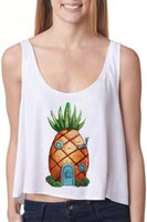 Cheap 2015 new art digital printing new stylish vest fruit cool vest Tanks & Camis Tops & Tees
