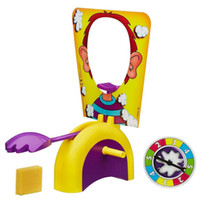 Wholesale Pie Face Game Machine Korean Running Machine Pie Face Cream On Her Face Funny Toy For Children Paternity