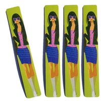 belle tools - Eva cm Decorative Belle Nail Files Buffer Buffing Crescent Grit Sandpaper Manicure Pedicure Tools