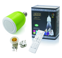 Wholesale NEW arrival Bluetooth gb memory led lamp quran speaker lamp factory price with CE Approval now