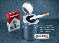 Wholesale new creative Smoking Accessories Trash ashtray ashtray stainless steel portable ashtray