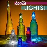 Wholesale Hot sale LED Bottle Light Cork Shaped Rechargeable USB Bottle Light LED Turn Bottle in Night LAMP Cork Plug Wine Bottle Atmosphere Light