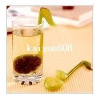 Tea Infusers Plastic ECO Friendly free shipping 50pcs music symbol style tea strainers, tea infusers