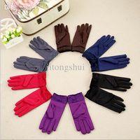 ladies gloves - New gloves female winter lovely milk fiber napped Unisex mittens ladies gloves for girls winter warm glove