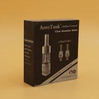 aero materials - The best Aerotank atomizer pyrx glass material aero tank atomizer kit with airflow control function kanger aerotank DHL free