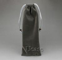 Wholesale Soft Flannelette Sleeve Velvet Pouch Bag Case Cover for Selfie Handheld Stick Pole and Self portrait monopod