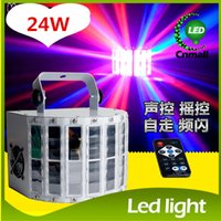 activate led stage - LED Effects Led Butterfly Light Channel RGBW Dmx512 Stage Lighting Voice activated Automatic Control LED Laser Projector DJ KTV Disco