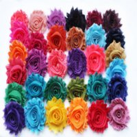 Wholesale quot frayed chiffon shabby flower yards shabby chiffon flowers colors