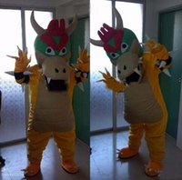 bowser costume - Factory direct sale SUPER MARIO BOWSER KOOPA Adult Size Mascot Costume Fancy Outfit