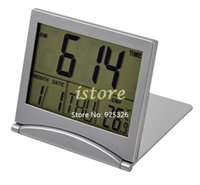 Wholesale New Electronic Simple Desk Digital LCD Thermometer Calendar Alarm Clock Dropshipping TK0635