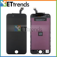 Wholesale For iPhone Complete LCD Digitizer Assembly with Earpiece Anti dust Mesh Inch Original LCD Quality DHL AA1395