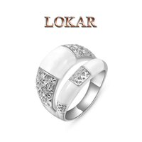 beryl crystals - LOKAR new arrival k gold beryl sexy eye fox crystal wedding engagement party ring for women fashion jewelry