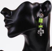 aztec gold color - Neon candy color Earrings Fashion Brand Jewelry Colorful Boho earrings Aztec Vintage Earring Elegant women Diamond earrings