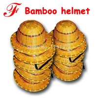 cane bamboo - Large brimmed helmet breathable bamboo cool cool green bamboo cane cap motorcycle helmets site safety