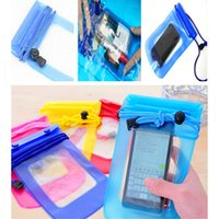 Wholesale PVC Waterproof Diving Bag For iphone plus s For samsung galaxy s3 s4 Underwater Pouch Case For Mobile Phones