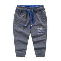 baby blue sweatpants - 2016 Spring Fashions boys sweatpants Kids tracksuit trousers baby cartoon cotton leisure pants childrens sports pants