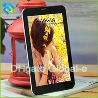 Cheap Cube Talk 7X U51GTW 3G Phablet with Double Sim Card Slots 7 inch IPS Pad WiFi 3G Bluetooth FM GPS Tablet PC Android Cube U51GTC4