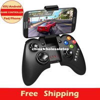 Wholesale New Brand Wireless Bluetooth Game Controller Gamepad Joystick For iPhone Android Mobile Phones Tablet PC