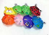 Wholesale Dia quot kids umbrella toys cute animal umbrella for kids Mini umbrella for toddlers learning toys