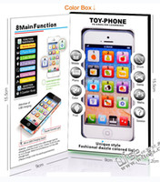 Wholesale Y Phone English Learning Machine Children Yphone Fun learning toys chargable by USB with LED Light