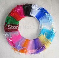Wholesale 7 cm Organza Gift Bag Wedding Bag Pouch Bag Drawstring Bag Color Random HS200