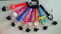 cartoon character - 2015 The new cartoon characters Monopod Z07 Selfie Stick Extendable Handheld Monopod Tripod With Shutter Release For Iphone IOS Samsung