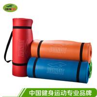 Cheap JOINFIT 1.5cm thick yoga mat fitness mat Pilates mat exercise mats have straps JK