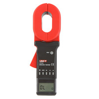 Wholesale UNI T Auto Range Digital Clamp Earth Ground Resistance Testers Clamp Meters Ohmmeter w RS Interface Megohmmeter UT276A order lt no trac
