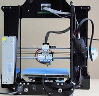 Cheap High resolution I3 DIY 3d printer with LED screen ex-factory price easy installation work with ABS PLA filament!!!