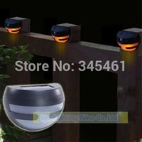 aa battery energy - Energy saving Leds Solar Light White Warm white With AA mAhNi MH battery Solar Wall Lamp IP44 Waterproof Garden Lights order lt no tr