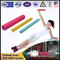 Wholesale Newest design creative power rubber hand grip arm muscle trainner twister bar fitness euipment with cores