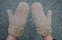 Wholesale NEW Fashion Women Girls Knitted Wool Hand Wrist Warmer Fingerless Winter Gloves
