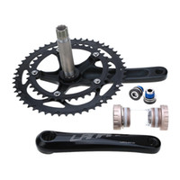 Wholesale Professional Bike bicycle Parts Road Bike Bicycle CNC Aluminum Alloy T Teeth Chainwheel Crank Crankset Sprocket Axle