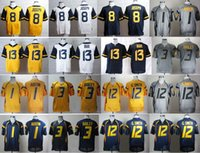 andrew cotton - Factory Outlet West Virginia Mountaineers Andrew Buie College Jerseys Football Tavon Austin Oliver Luck Stedman Bailey Karl Jos