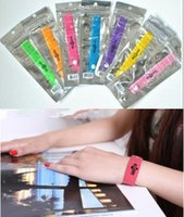 Wholesale Via DHL FEDEX OEM GREENLUCK Mosquito Bracelet Repellent Band Camping Killer Bangle Wristband summer QWH01
