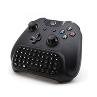 Wholesale 2 g Wireless Mini Chatpad Message Keyboard for Xbox One Controller Black