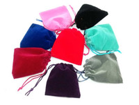 Wholesale Gift packaging x9cm DrawString bag velvet bag elegant gift candy jewelry pouch bags xmas wedding Gift bags a998