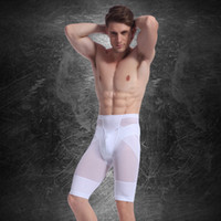 Wholesale Men Body Shaper Belly Underwear Muscle Men Slimming Fat Leggings Compression Shorts Mens Bodysuit Waist Training Corsets For Men