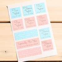 Wholesale FKT065 Pink Blue silver hot words sealing sticker cup gift sticker baking package cake box decoration cm