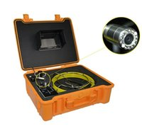 abs sewer pipe - Sewer Pipe Inspection Camera DN with inch TFT color monitor and ABS box DVR function