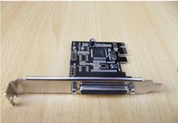 Wholesale PCI Express pci lpt printer Parallel Port IEEE Printer Port LPT pin Card best chipset of WCH382L