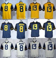 west virginia - Factory Outlet Men s Karl Joseph West Virginia Mountaineers WVU College Football Limited Jerseys New Cheap Jersey Embroidery log