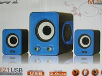 Wholesale SW subwoofer stereo mini computer computer speakers computer parts